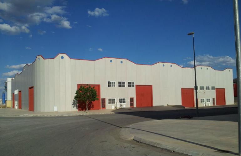 Nave en Abanilla (Murcia) de 900 m2