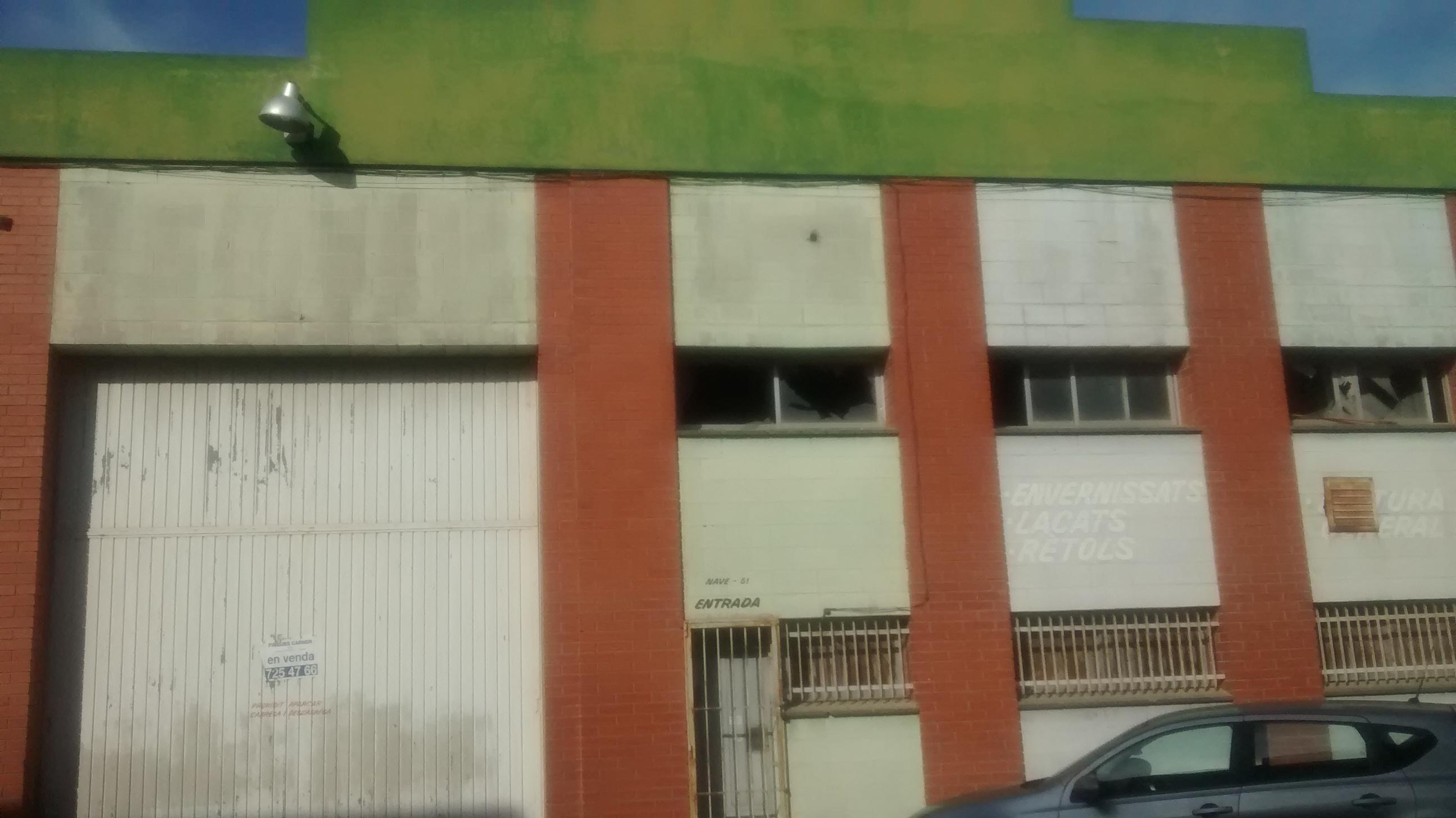 Nave Industrial de 500m2 en Castellar del Vallès