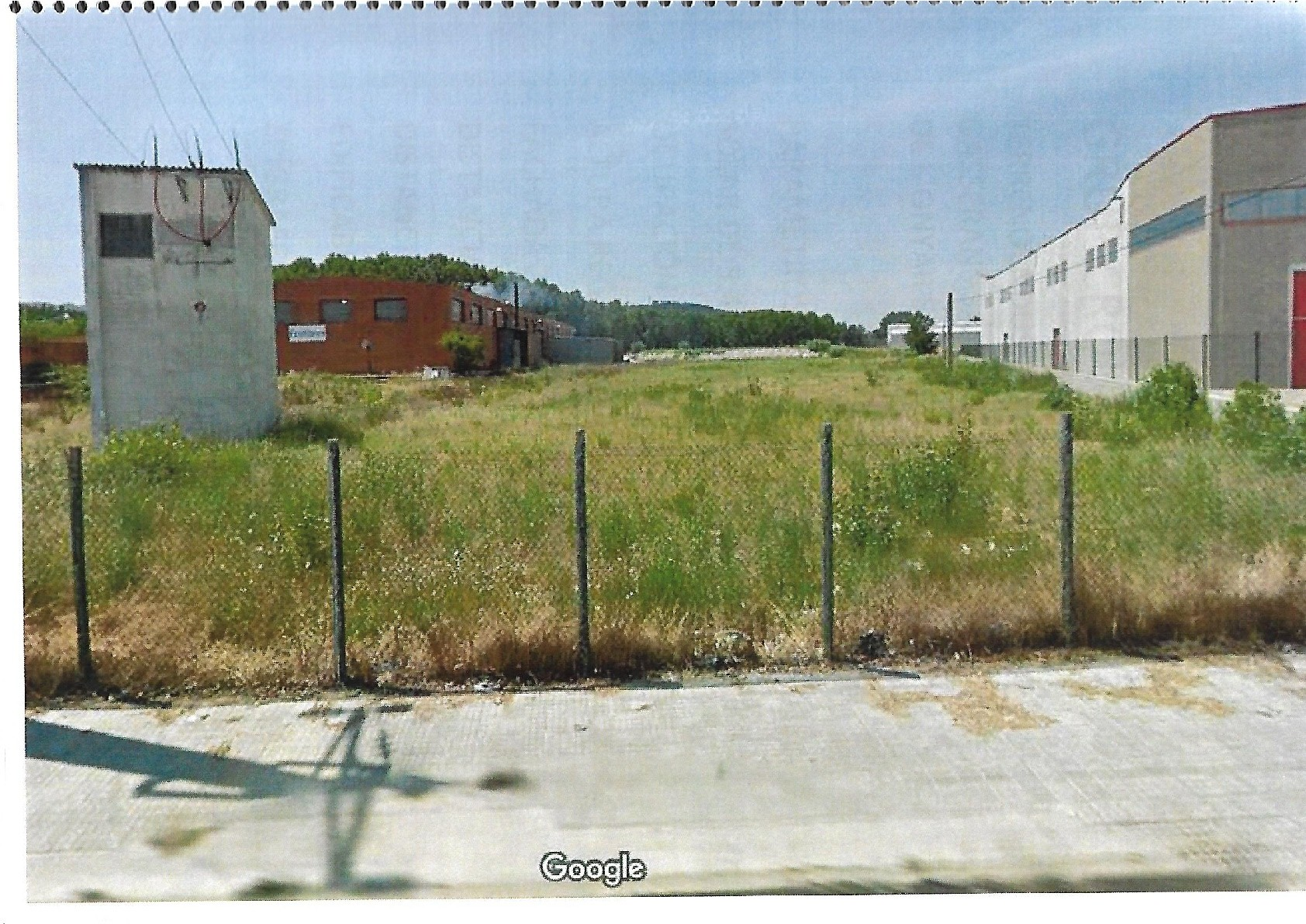 Terreno Industrial en Gasserans, Sant Feliu de Buxalleu de 5.461 m2